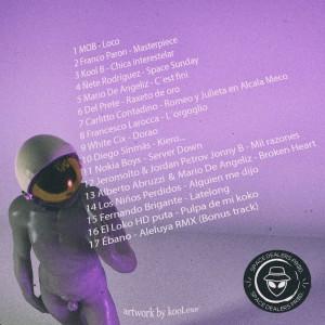 Trasera: Space dealers - Mixtape Vol. 4