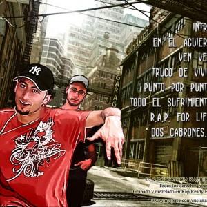 Trasera: Sucia kaligrafia - Versatil 2009