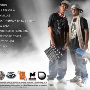 Trasera: Super y Antuan - La película EP