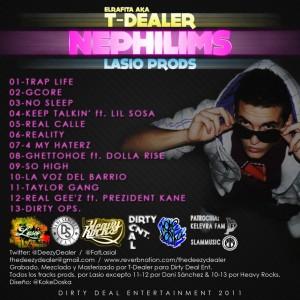 Trasera: T-Dealer y Lasio Prods - Nephilims