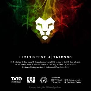 Trasera: Tato930 - Luminiscencia
