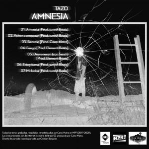 Trasera: Tazo - Amnesia