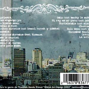 Trasera: Thandem - Desde la capital