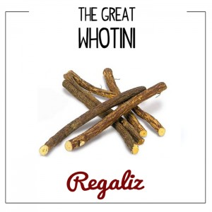 Deltantera: The great Whotini - Regaliz