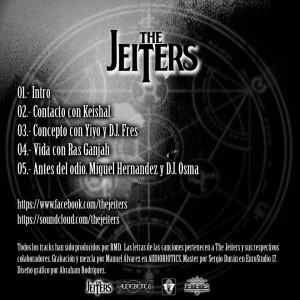 Trasera: The jeiters - Antes del odio EP