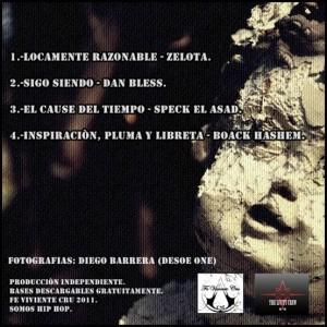 Trasera: The livity crew - Solitarios 2011