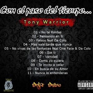 Trasera: Tony Warrior - Con el paso del tiempo
