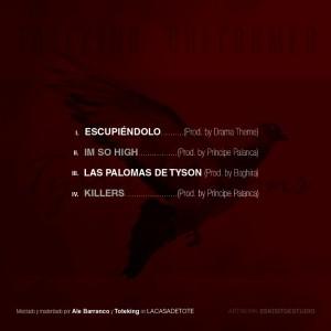 Trasera: Toteking y Dheformer - Tyson Pigeons