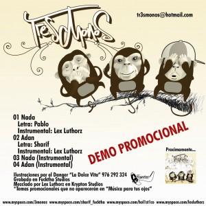 Deltantera: Tr3s monos - Demo 2006
