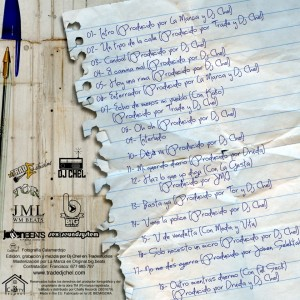 Trasera: Trade y Dj Chel - De andar por casa