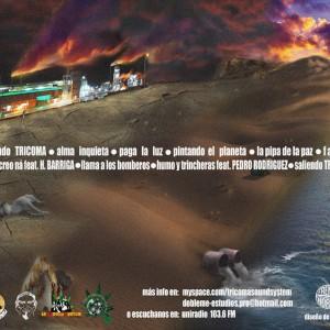 Trasera: Tricoma Sound System - Tirando la basura