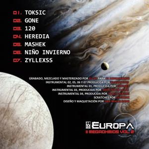 Trasera: VVAA - 11Megaohmios Vol.2: Europa