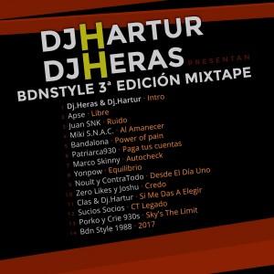 Trasera: VVAA - BDN Style 3ª Edición (Mixtape)