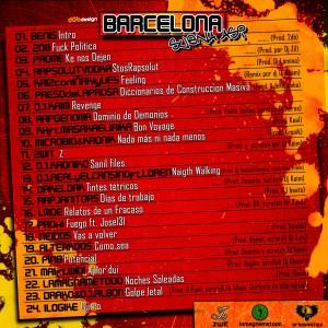 Trasera: VVAA - Barcelona suena así