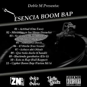 Trasera: VVAA - Esencia Boom Bap