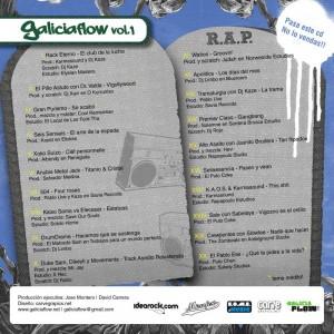 Trasera: VVAA - Galiciaflow Vol. 1