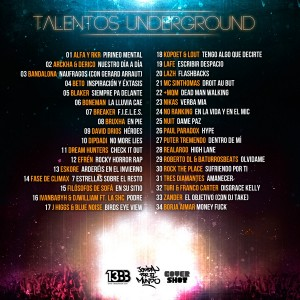 Trasera: VVAA - Talentos underground
