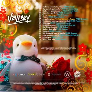 Trasera: Velasky - Juntos para siempre