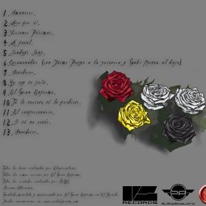 Trasera: Verbal system - Amor - Muerte - Pureza - Engaño