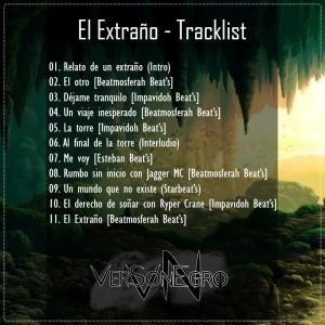 Trasera: Versonegro MC - El extraño