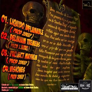 Trasera: Voorhees Naif - Apocalipsis series Vol. 2