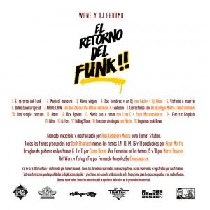 Trasera: Wane y Dj Ekuomo - El retorno del funk