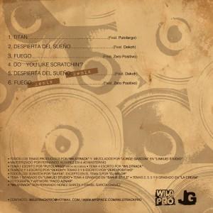 Trasera: Wildtrack - Preludio
