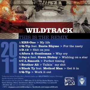 Trasera: Wildtrack - This is the remix