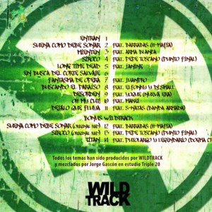 Trasera: Wildtrack - Titanes