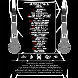 Trasera: X-O2 - El nexo Vol. 1 (Beta)