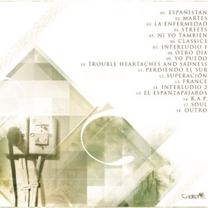 Trasera: Xinkoa - Instrumentales Volumen 3