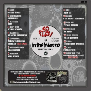 Trasera: Xivónn - 90 flow - In the hierro la mixtape Vol 1