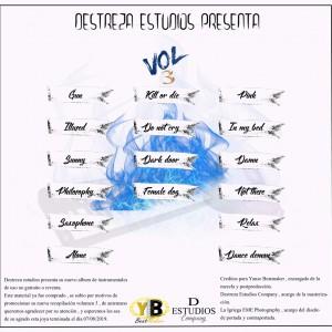 Trasera: Yanse - Beats Vol. 3 (Instrumentales)