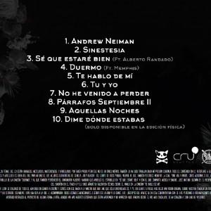 Trasera: Yogu y Taker - Sinestesia the mixtape