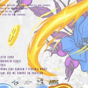 Trasera: Yool y Evil Man - Fuego y Flores