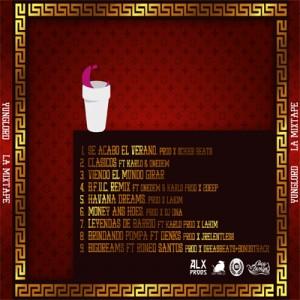 Trasera: Yunglord - La mixtape