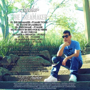 Trasera: Zayeker - The DreaMaker