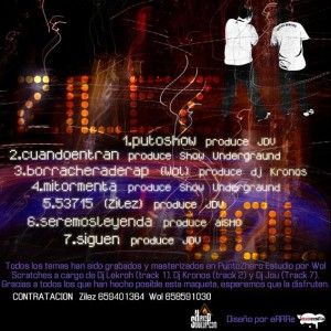 Trasera: Zilez y Wol - Puto show