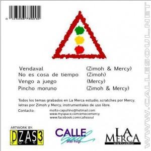 Trasera: Zimoh y Mercy - Semáforo en rojo