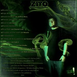 Trasera: Zito - Recuerdos y rarezas Vol. 1