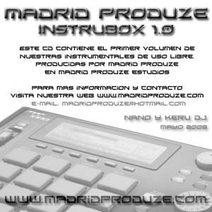 Trasera: madrid produze - Instrubox 1.0 (Instrumentales)