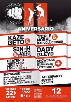 2º Aniversario El club de la lucha en Murcia