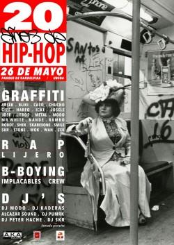 20 Años de Hip-Hop en Ubeda