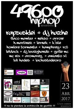 49600 Hip Hop Fest en Benavente