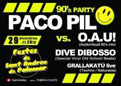 90's Party en Barcelona