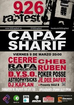 926 Rapfest 2ª Edición en Cuidad Real en Ciudad Real