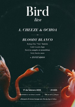 A. Cheeze, Ochoa y Bloody blanco en Madrid