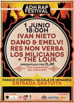 ADH Rap Festival 2013 en Alcalá De Henares