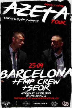 AZeta Tour en Barcelona