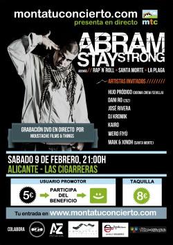 "Abram presenta ""Stay strong"" en Alicante"